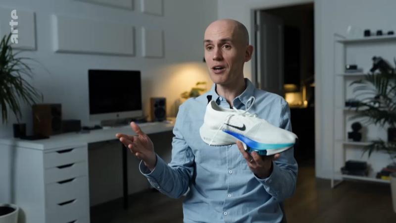 Alex Hutchinson mit dem Nike Alphafly